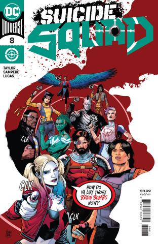Suicide Squad #8 (Daniel Sampere Cover)