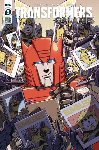 Transformers: Galaxies #5 (Milne Cover)