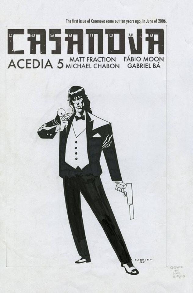 Casanova: Acedia #5 (Ba Cover)