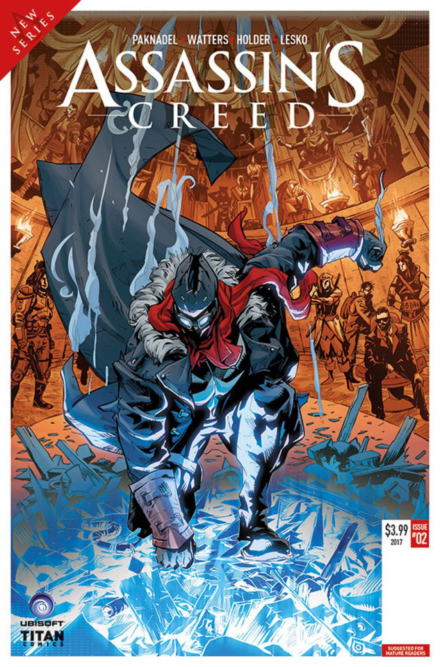 Assassin's Creed: Uprising #2 (Holder Cover)