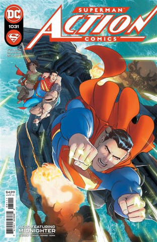 Action Comics #1031 (Mikel Janin Cover)
