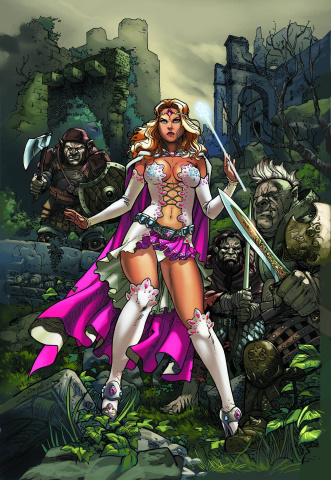 Grimm Fairy Tales: Oz #2 (Ortiz Cover)