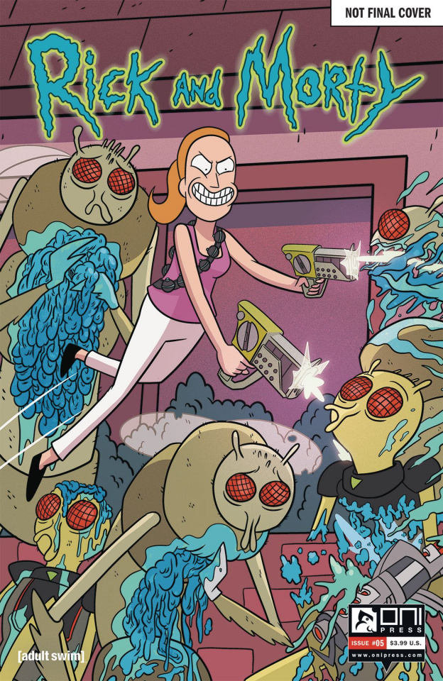 Rick and Morty #5 (50 Issues Special Cover)