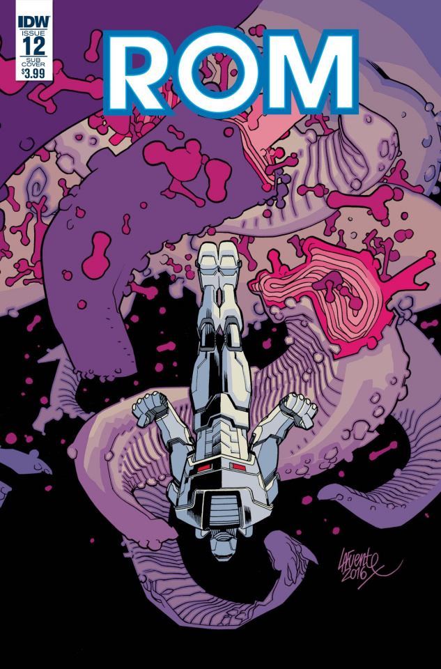 ROM #12 (Subscription Cover)
