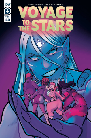 Voyage to the Stars #4 (Daidone Cover)