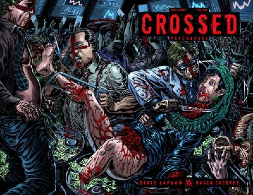 Crossed: Psychopath #3 (Wrap Cover)