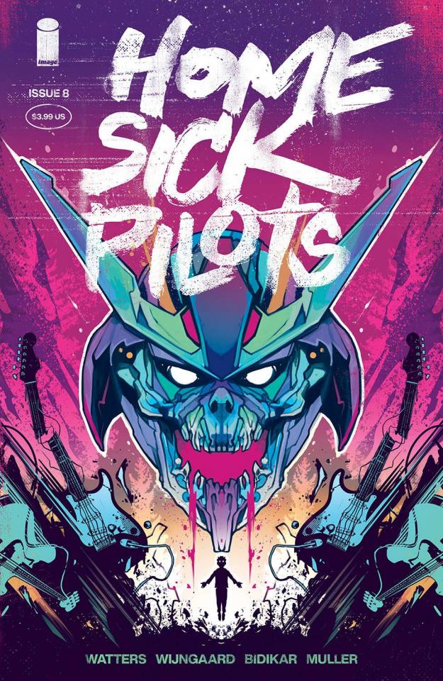 Home Sick Pilots #8 (Wijngaard Cover)