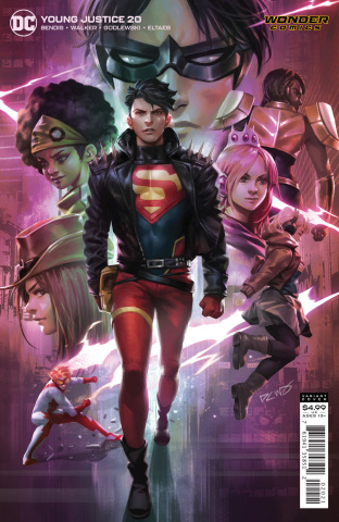 Young Justice #20 (Derrick Chew Card Stock Cover)