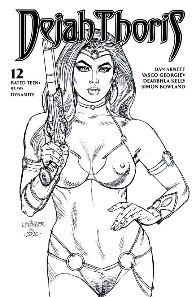 Dejah Thoris #12 (20 Copy Linsner B&W Cover)