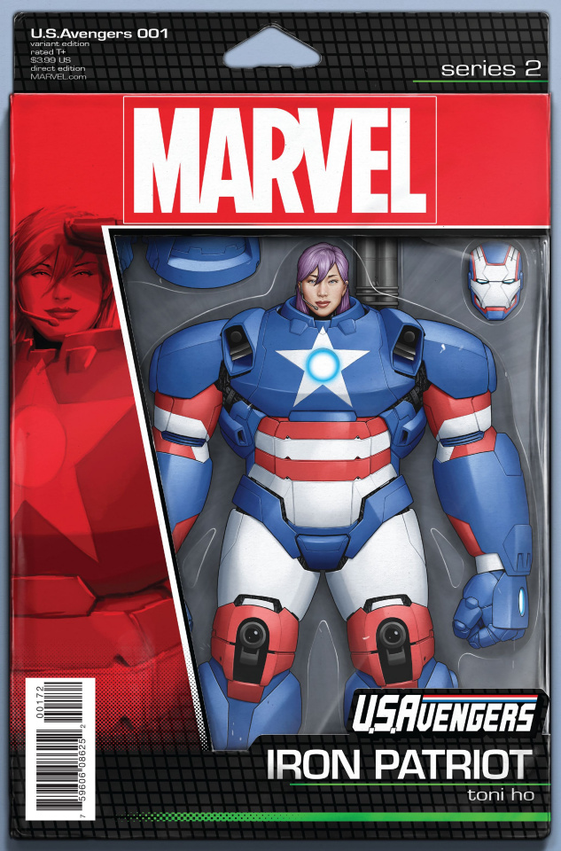 U.S.Avengers #1 (Christopher Action Figure Cover)