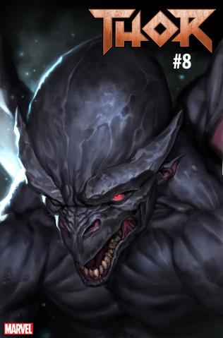 Thor #8 (Djurdjevic Fantastic Four Villains Cover)