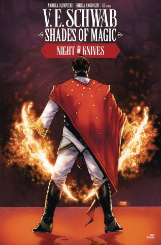 Shades of Magic #5 (Cassara Cover)