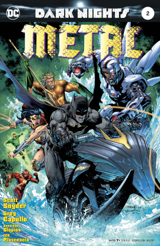 Dark Nights: Metal #2 (Lee Cover)