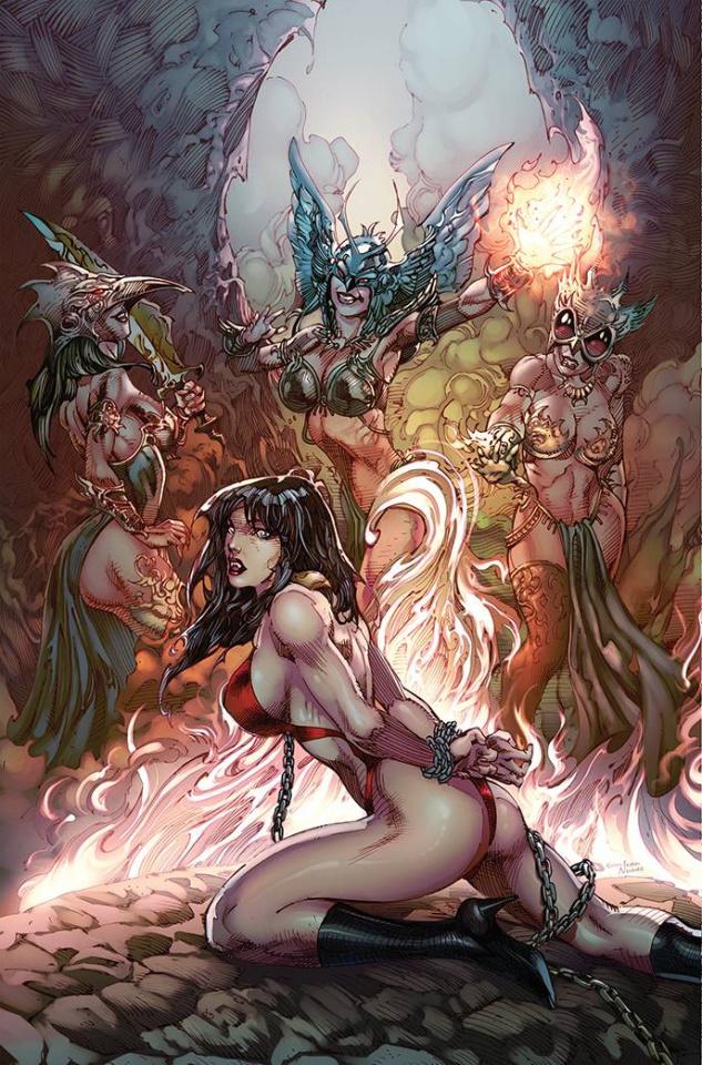 Vampirella: 1992 (Castro Virgin Cover)