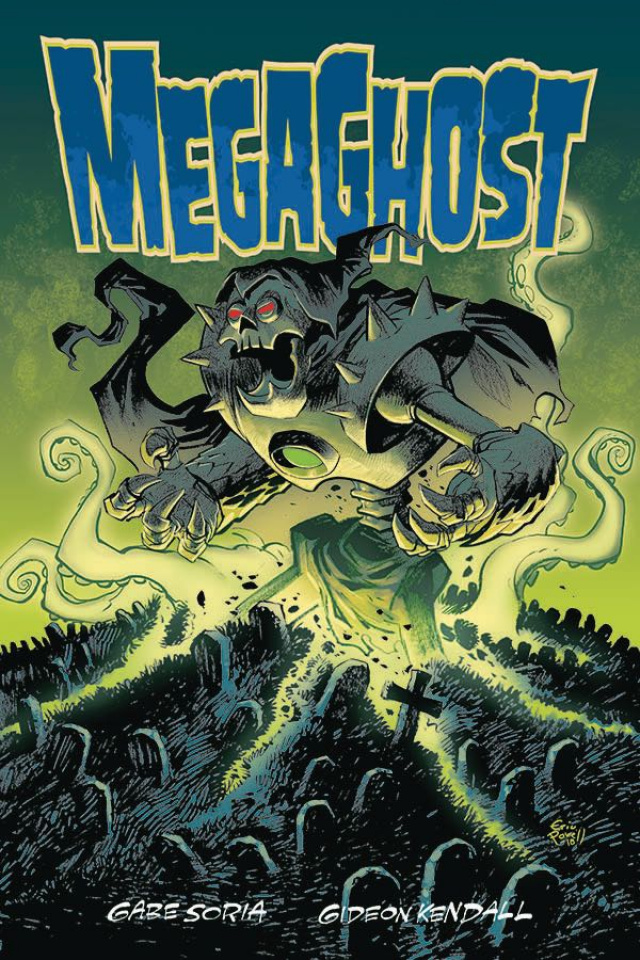 Mega Ghost #1 (Powell Cover)