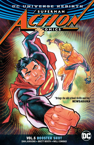 Action Comics Vol. 5: Booster Shot (Rebirth)