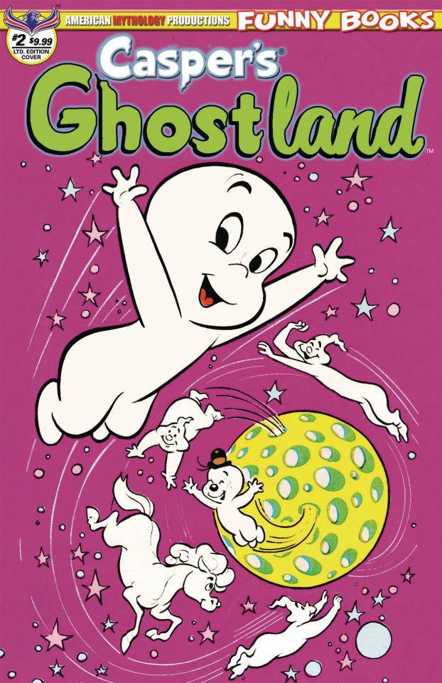 Casper's Ghostland #2 (Retro Animation Cover)