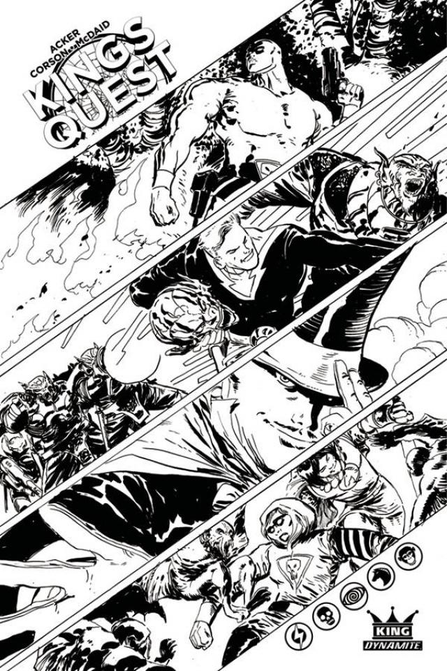 Kings Quest #1 (10 Copy McDaid Cover)