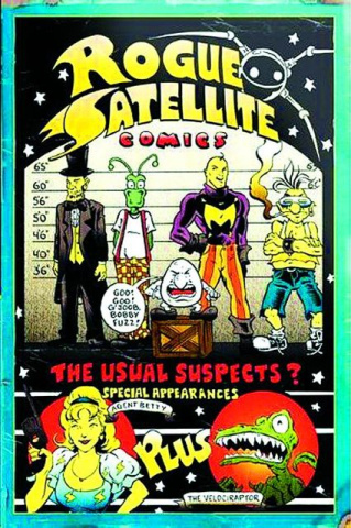 Rogue Satellite Comics: The Complete Collection