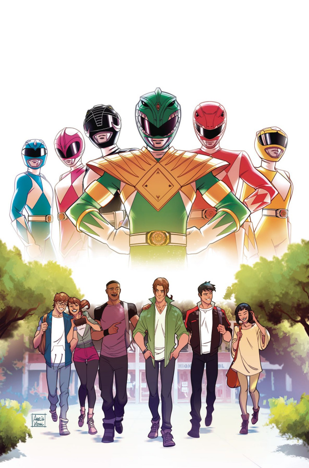 Go, Go, Power Rangers! #21 (Vidal Cover)