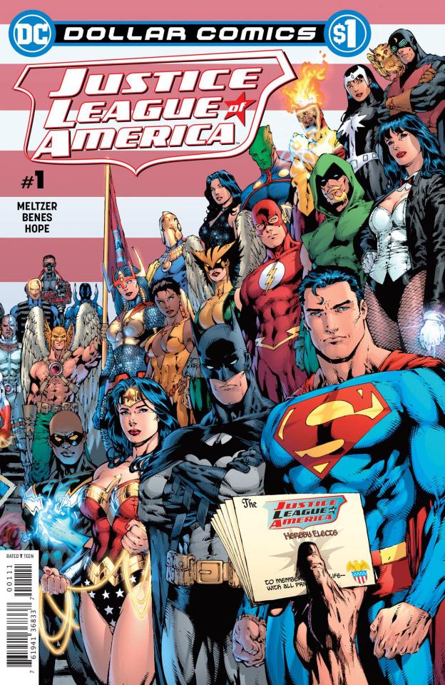 Justice League of America #1: 2006 (Dollar Comics)
