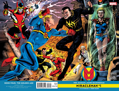 Miracleman by Gaiman and Buckingham #1 (Jam Cover)