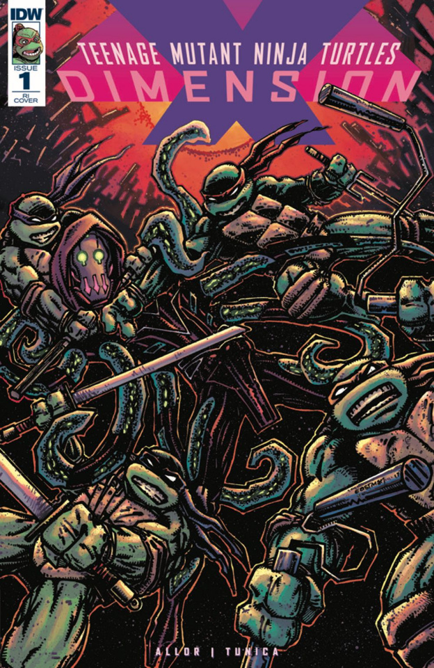 Teenage Mutant Ninja Turtles: Dimension X #1 (10 Copy Cover)