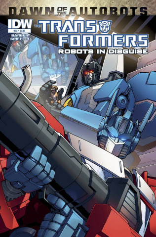 The Transformers: Robots in Disguise #32: Dawn of the Autobots