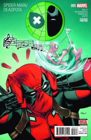 Spider-Man / Deadpool #5 (McGuinness 3rd Printing)