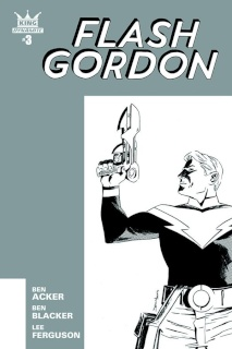 Flash Gordon #3 (10 Copy Shalvey B&W Cover)
