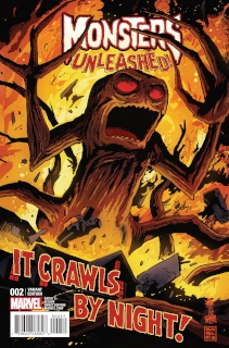 Monsters Unleashed! #2 (Francavilla Cover)