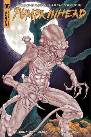 Pumpkinhead #5 (Shepherd Cover)