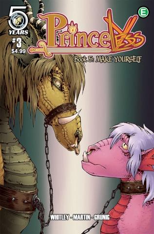Princeless: Make Yourself #3 (Martin & Grunig Cover)