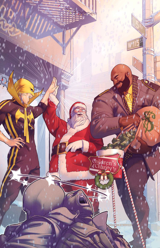 Power Man & Iron Fist Sweet Christmas Annual #1