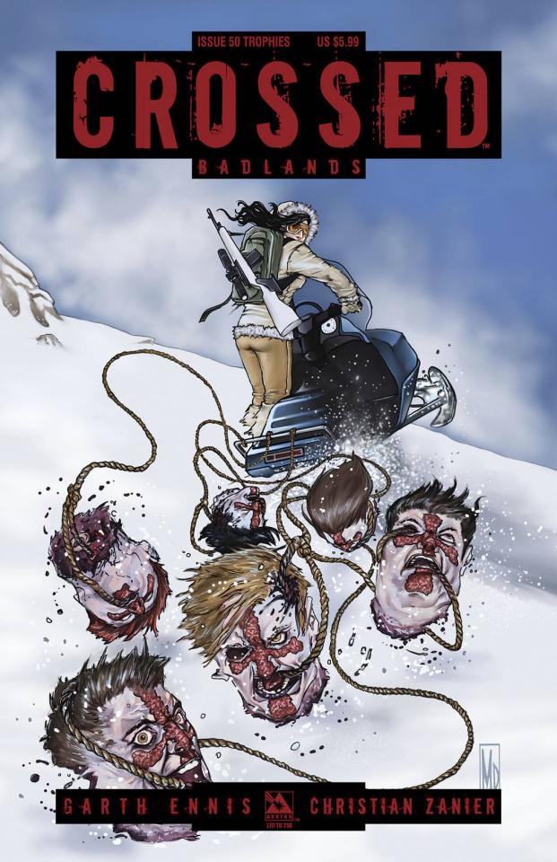 Crossed: Badlands #50 (Trophies Cover)