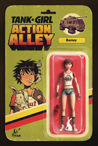 Tank Girl: Action Alley #3 (Action Figure Cover)