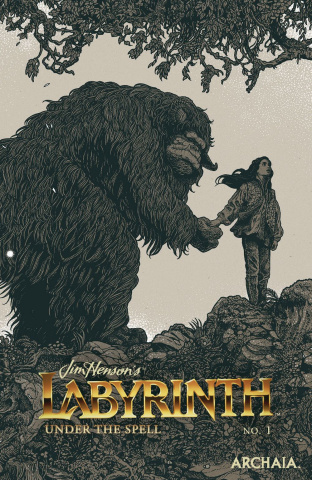 Labyrinth: Under the Spell #1 (Beckett Cover)