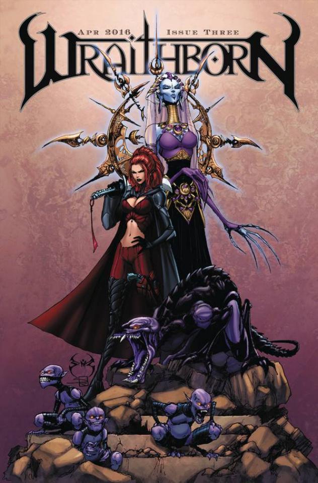 Wraithborn #3 (10 Copy Cover)