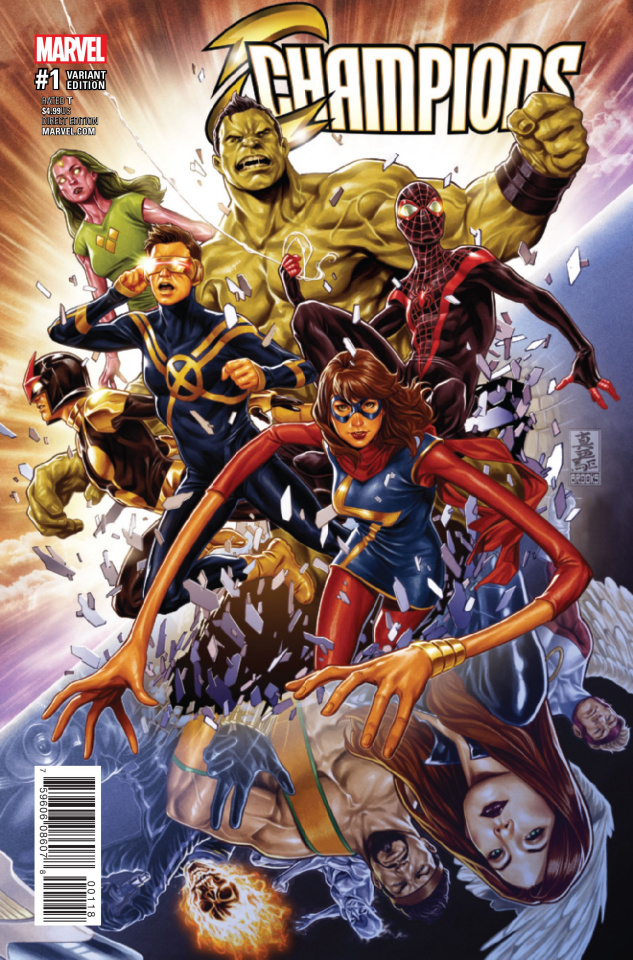 Champions #1 (Young Champions Cover)