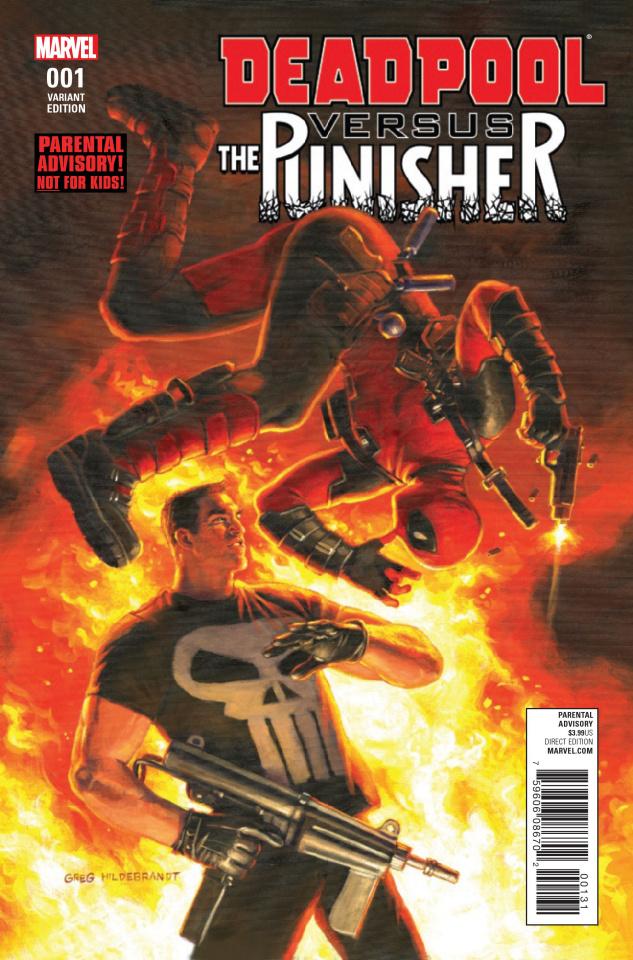 Deadpool vs. The Punisher #1 (Hildebrant Cover)