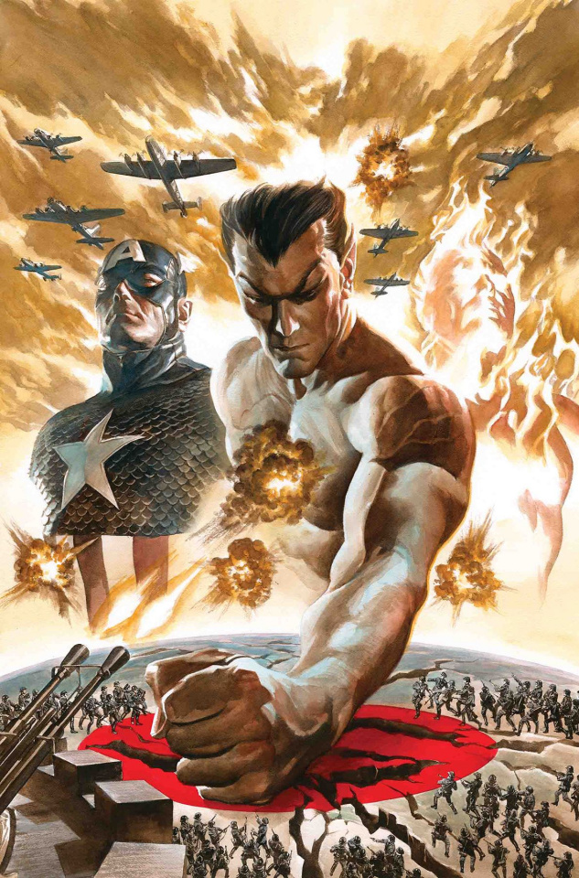 Invaders #1 (Ross Cover)