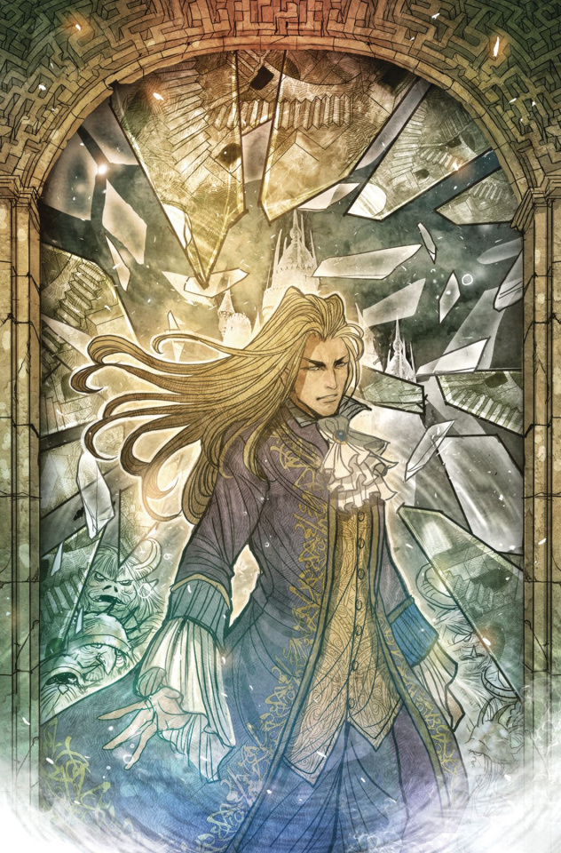 Labyrinth: Coronation #6 (Subscription Cover)