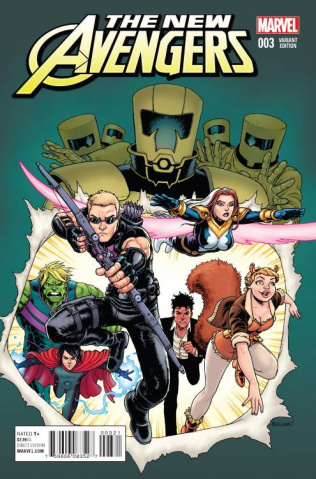 New Avengers #3 (Burnham Cover)