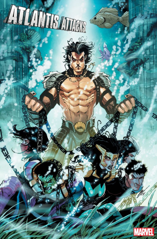 Atlantis Attacks #2 (Sandoval Cover)