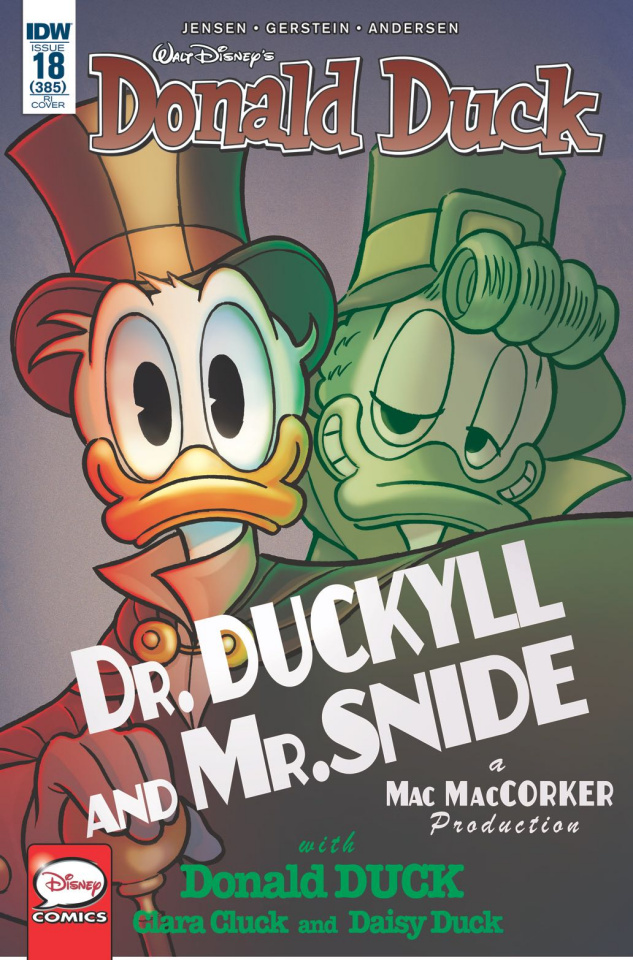 Donald Duck #18 (10 Copy Cover)