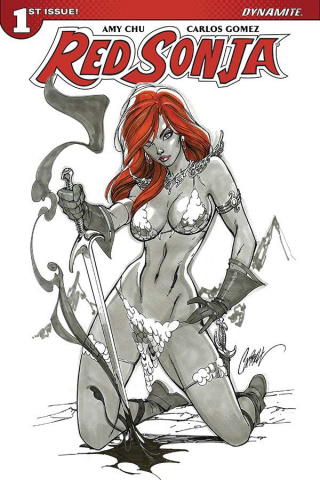 Red Sonja #1 (Campbell Cover)