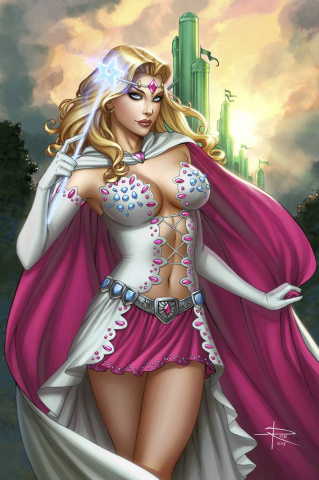 Grimm Fairy Tales: Oz - Reign of the Witch Queen #6 (Rich Cover)