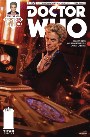 Doctor Who: New Adventures with the Twelfth Doctor, Year Three #5 (Brooks Cover)