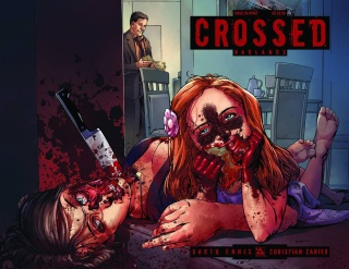 Crossed: Badlands #50 (Wrap Cover)