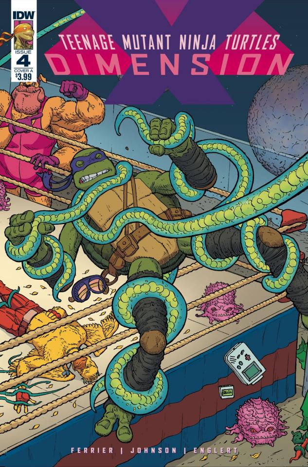 Teenage Mutant Ninja Turtles: Dimension X #4 (Pitarra Cover)
